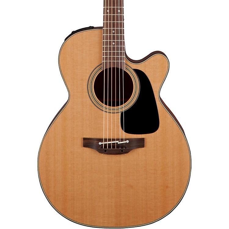 TakaminePro Series 1 NEX Cutaway Acoustic-Electric GuitarNatural