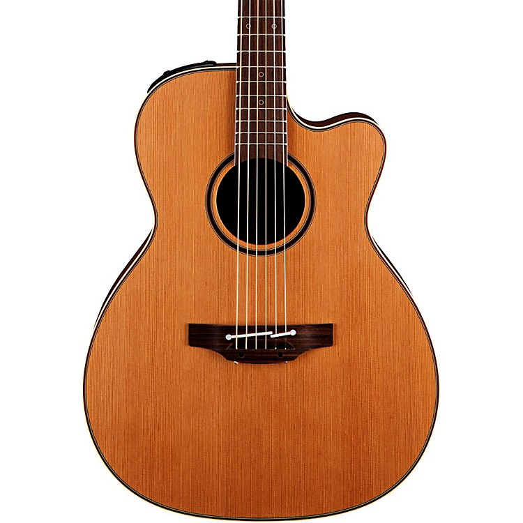 TakaminePro Series 3 Orchestra Model Cutaway Acoustic Electric GuitarNatural