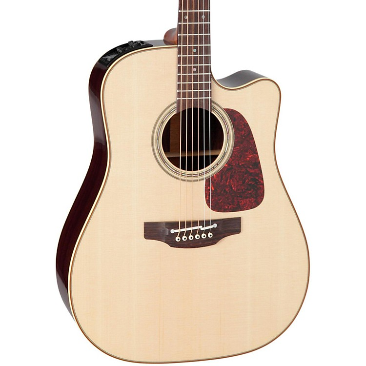 Takamine Pro Series 5 Dreadnought Cutaway Acoustic-Electric Guitar Natural