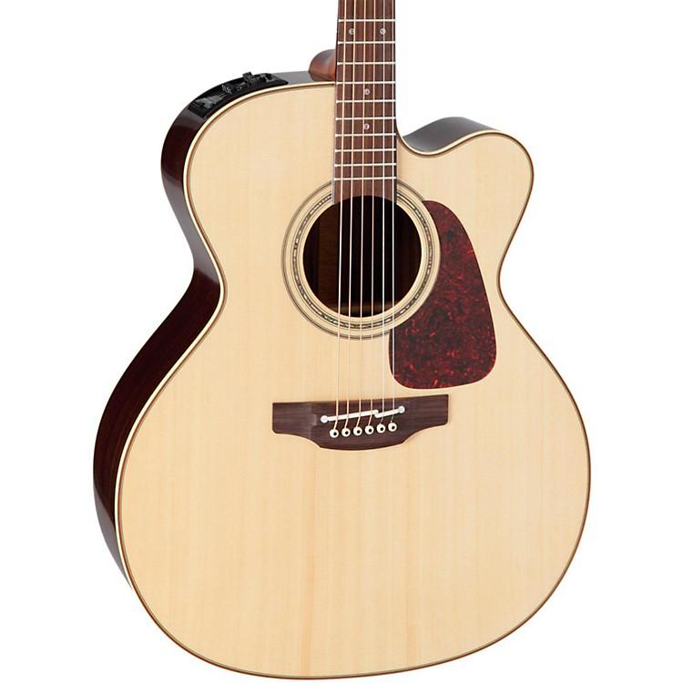 TakaminePro Series 5 Jumbo Cutaway Acoustic-Electric GuitarNatural