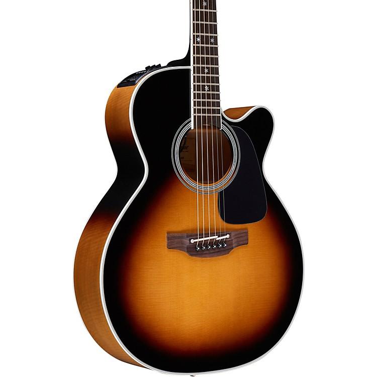 TakaminePro Series 6 NEX Cutaway Acoustic-Electric GuitarSunburst