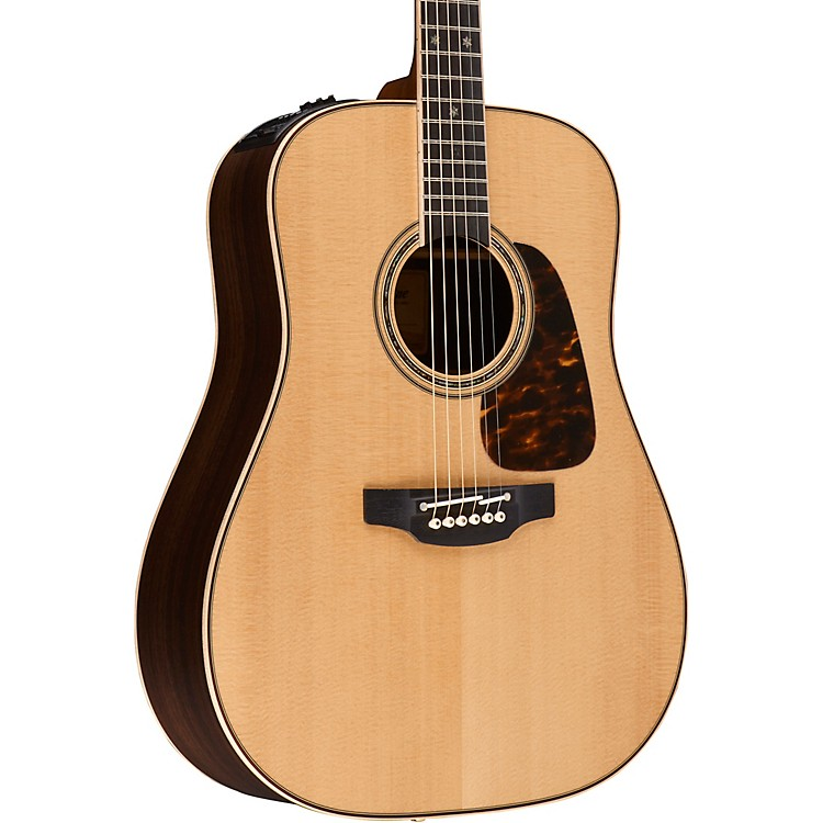 TakaminePro Series 7 Dreadnought Acoustic-Electric GuitarNatural