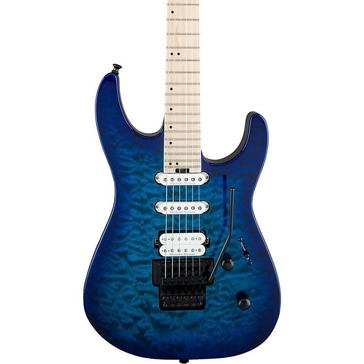 JacksonPro Series Dinky DK3QM Electric GuitarChlorine Burst