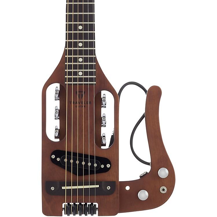 Traveler GuitarPro Series PRO BRN Hybrid Traveler Acoustic-Electric GuitarAntique Brown