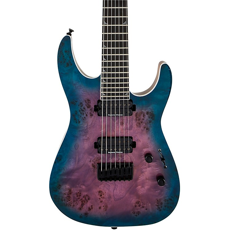 JacksonPro Series Soloist SL7P HT MAH 7-String Electric GuitarPurple Phaze