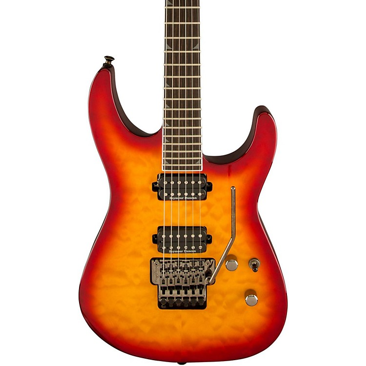 Jackson Pro Soloist SL2 MAH Electric Guitar Burnt Cherry Sunburst