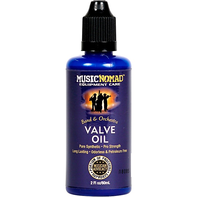 Music Nomad Pro Strength Pure Synthetic Valve Oil 2oz. Bottle