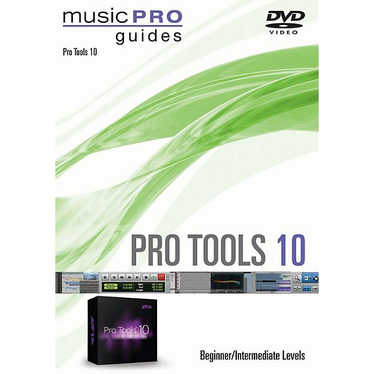 Hal LeonardPro Tools 10 Beginner/Intermediate Level Music Pro Guide Series DVD