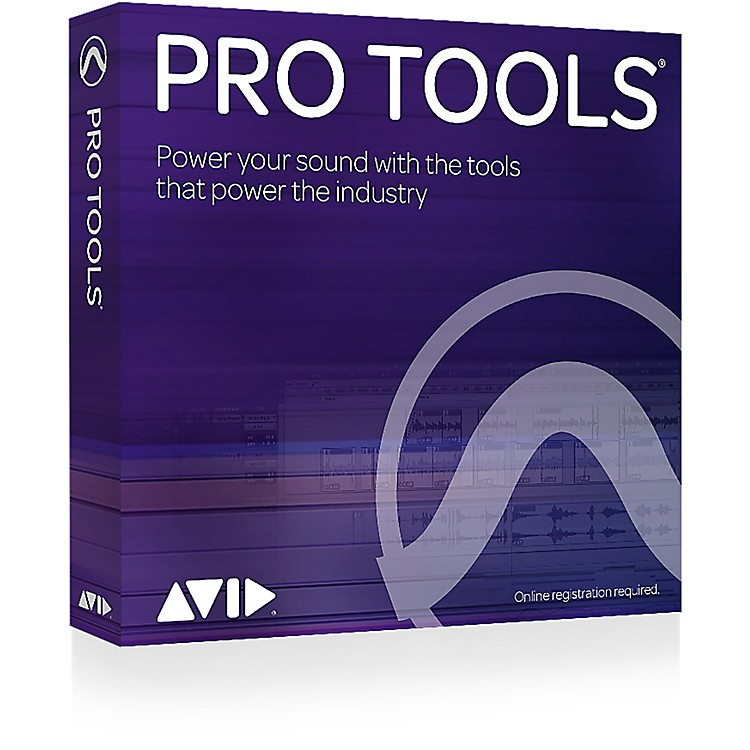 AvidPro Tools 12 with 1-Year Upgrade Plan (Boxed Version)