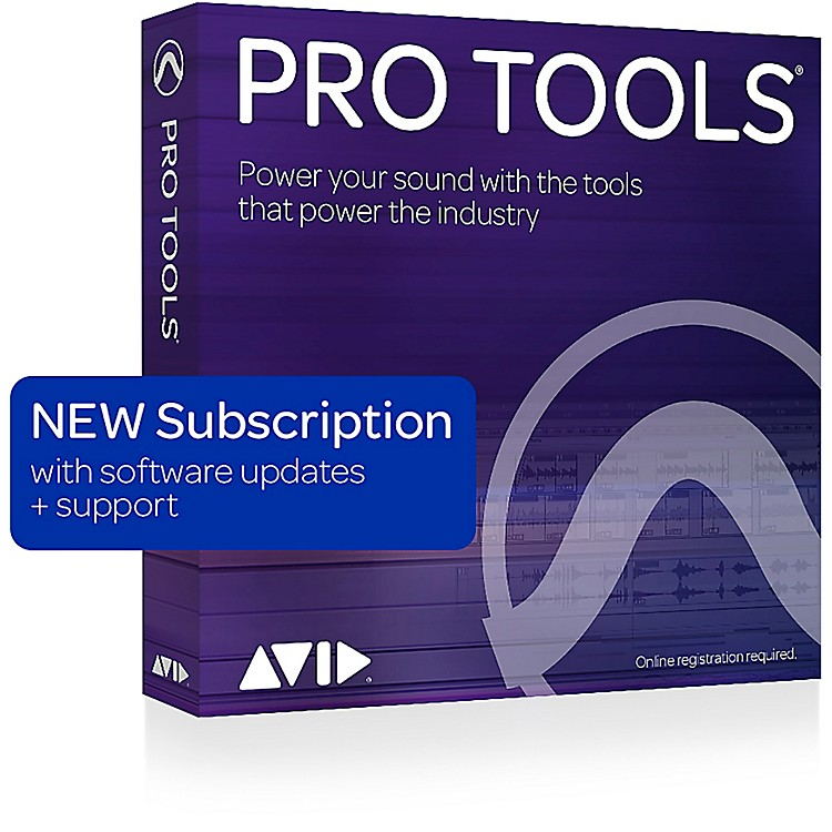 Avid Pro Tools NEW 1-Year Subscription with Updates + Support (Boxed)