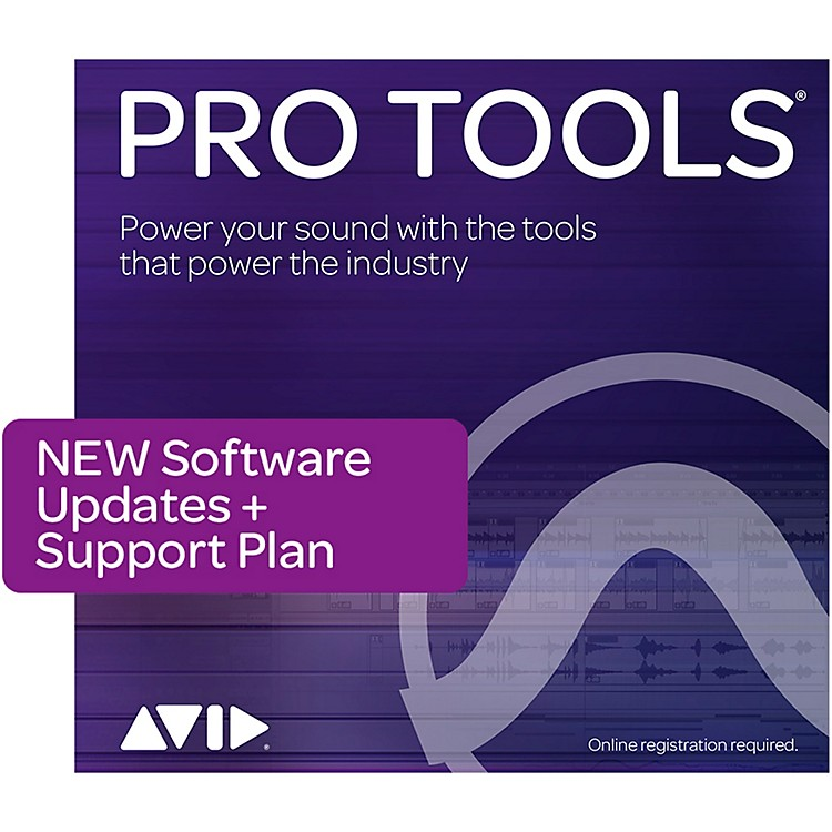 AvidPro Tools NEW 1-Year of Updates + Support for Perpetual License (Boxed)