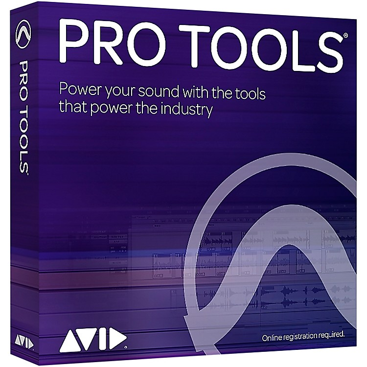 AvidPro Tools NEW Perpetual License with 1-Year of Updates + Support  (Boxed)