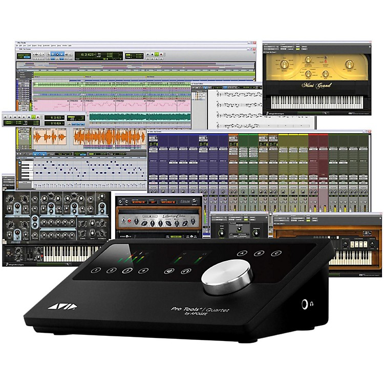 Avid Pro Tools Quartet with 1-Year Pro Tools Subscription  888365964058