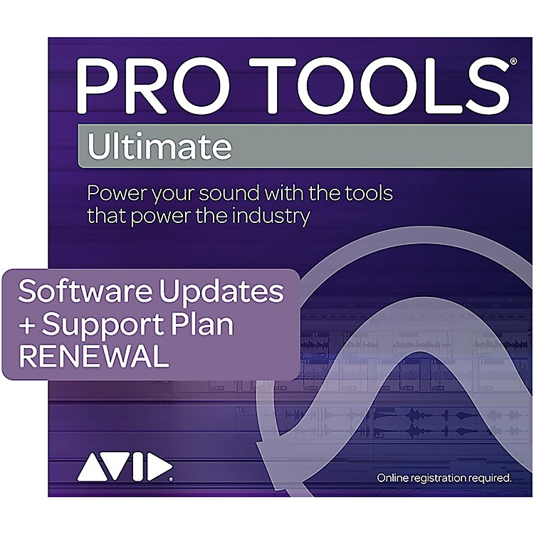 AvidPro Tools Ultimate RENEWAL 1-Year of Updates + Support for Perpetual License (Boxed)