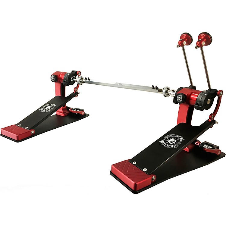 Trick DrumsPro1-V Black Widow ShortBoard Double Bass Drum Pedal