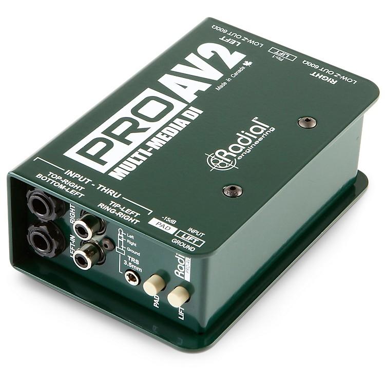 Radial EngineeringProAV2 Stereo Direct Box