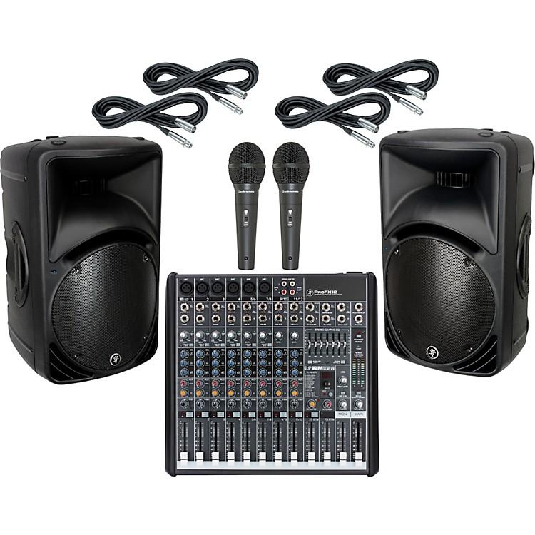 MackieProFX12 / SRM450 V2 PA Package