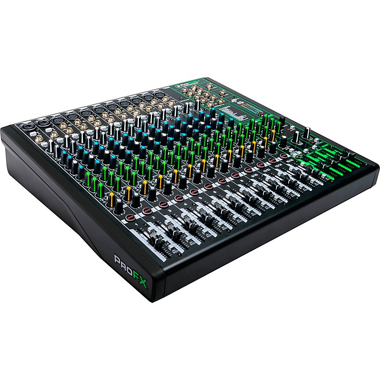MackieProFX16v3 ProFX16v3 16-Channel 4-Bus Professional Effects Mixer with USB