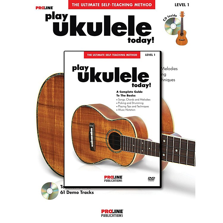 ProlineProLine Play Ukulele Today! Method (Book/CD/DVD)