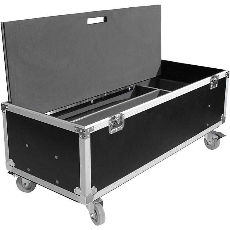 ProX ProX X-RCF-EVOX12X2W ATA Style Flight/Road Case For RCF EVOX Speaker Array System - Fits Two Speakers & Subwoofers