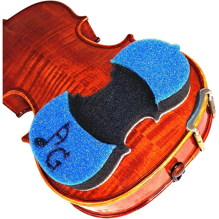 AcoustaGrip Prodigy Blue Violin and Viola Shoulder Rest Blue