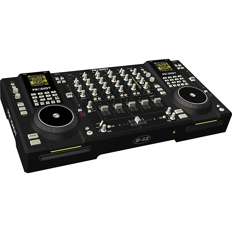 B-52 Prodigy Dual CD/MP3 DJ Workstation