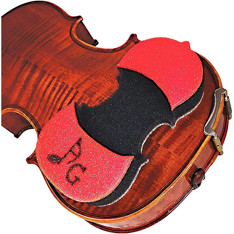 AcoustaGrip Prodigy Red Violin and Viola Shoulder Rest Red
