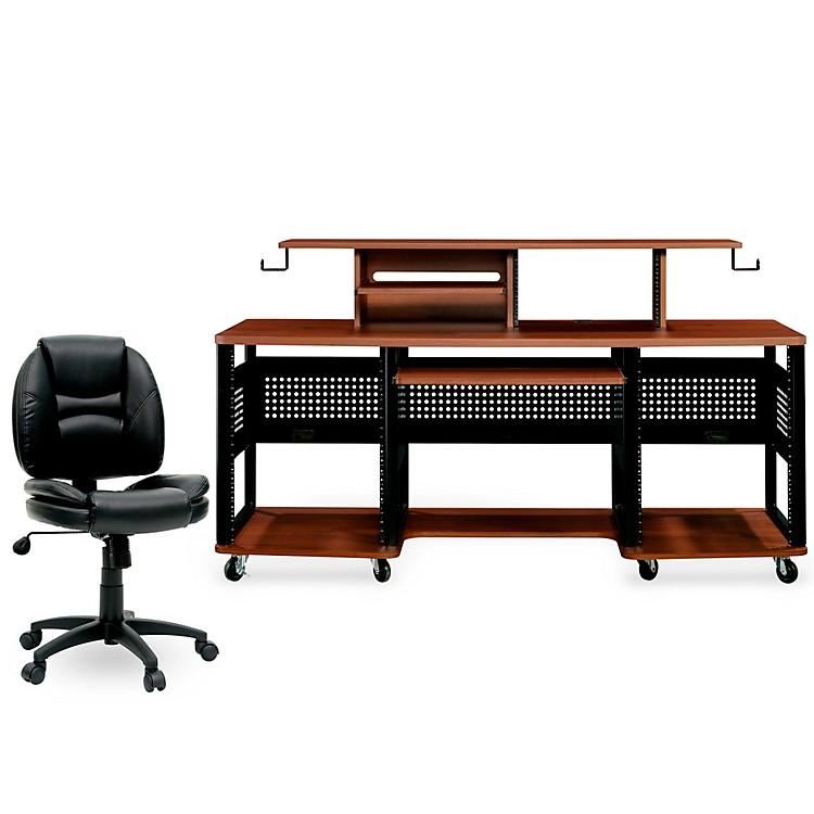 Studio RTAProducer Station Cherry and Task Chair DuraPlush Bundle