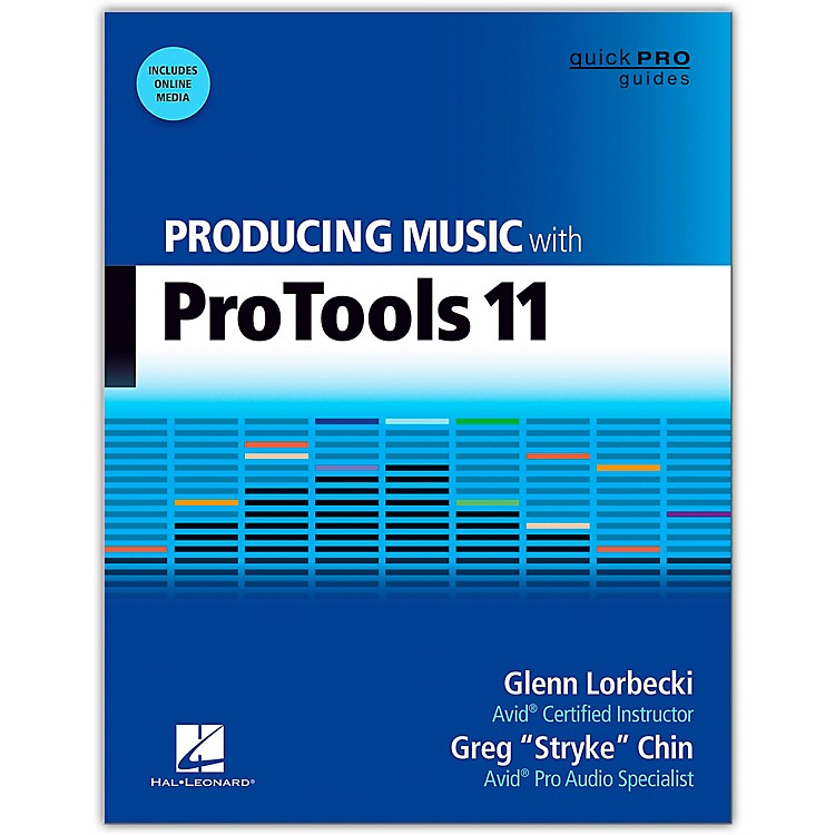 Hal Leonard Producing Music With Pro Tools 11 Book/DVD-ROM