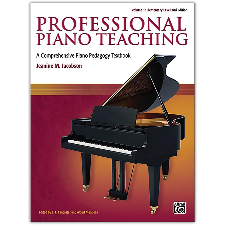 Alfred Professional Piano Teaching, Volume 1 (2nd Edition) Elementary Levels
