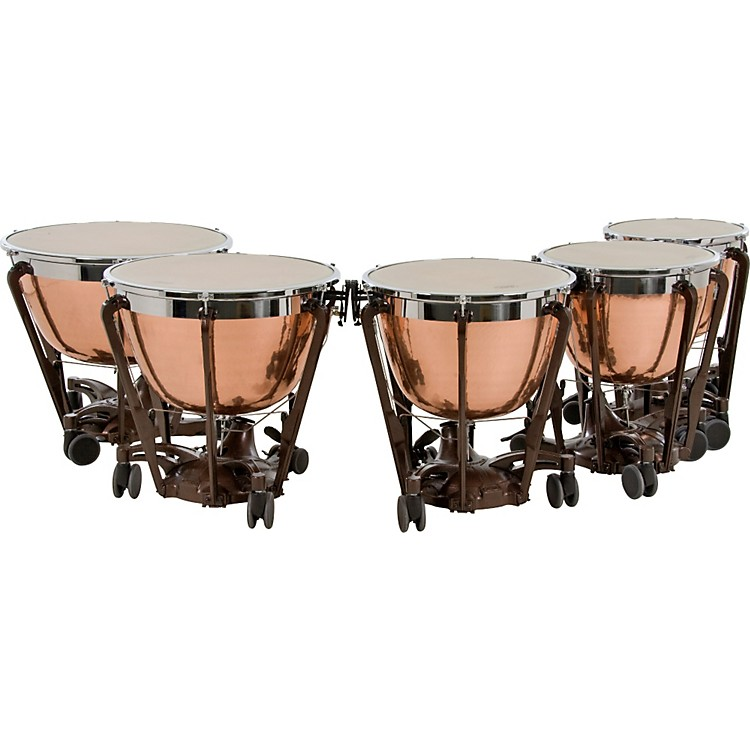 Adams Professional Series Generation II Cambered Copper Timpani, Set of 5