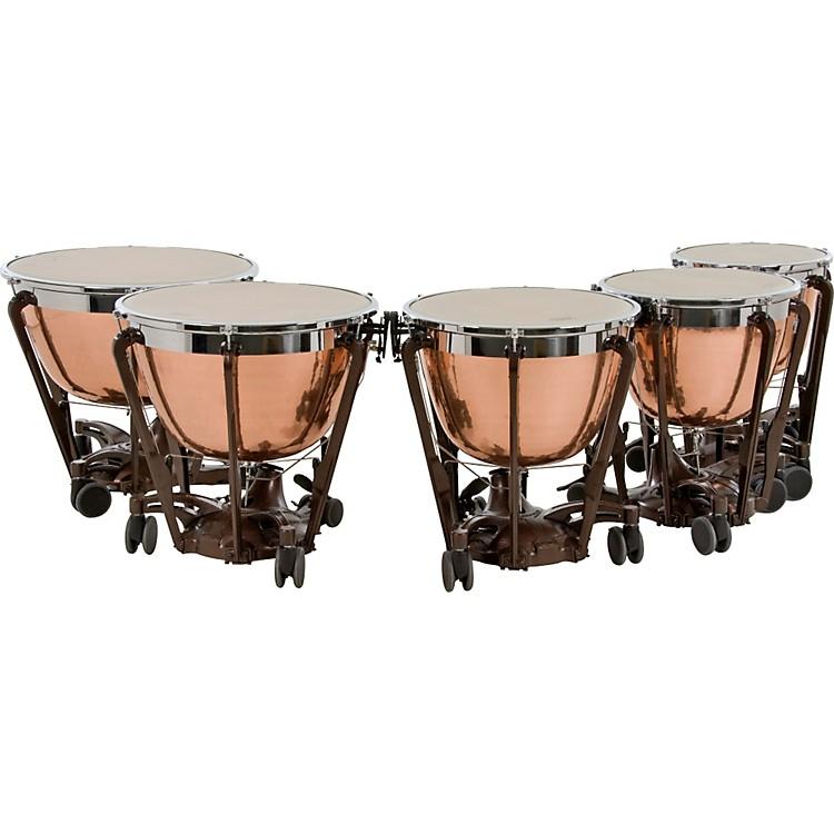 AdamsProfessional Series Generation II Cambered Copper Timpani, Set of 5