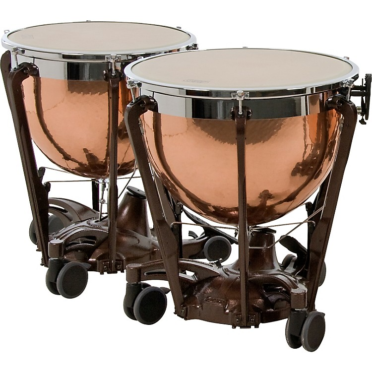 AdamsProfessional Series Generation II Hammered Copper Timpani, Set of 2