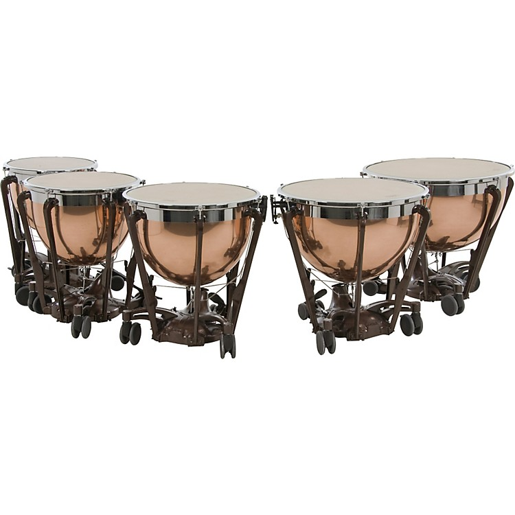 AdamsProfessional Series Generation II Polished Copper Timpani, Set of 5