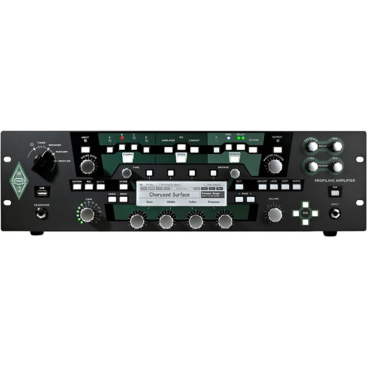 Kemper Profiler PowerRack 600W Class D Profiling Guitar Amp Black