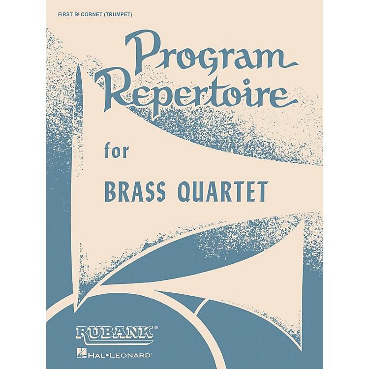 Rubank PublicationsProgram Repertoire for Brass Quartet (Baritone T.C. (Fourth Part)) Ensemble Collection Series
