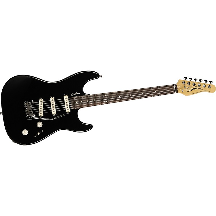 Godin Progression Electric Guitar Black Rosewood Fretboard