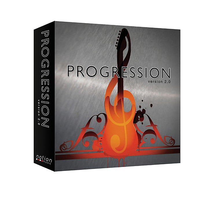 Notion Progression Guitar Tablature and Songwriting Software Version 2