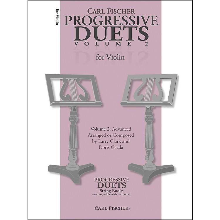 Carl FischerProgressive Duets For Violin Volume 2: Advanced