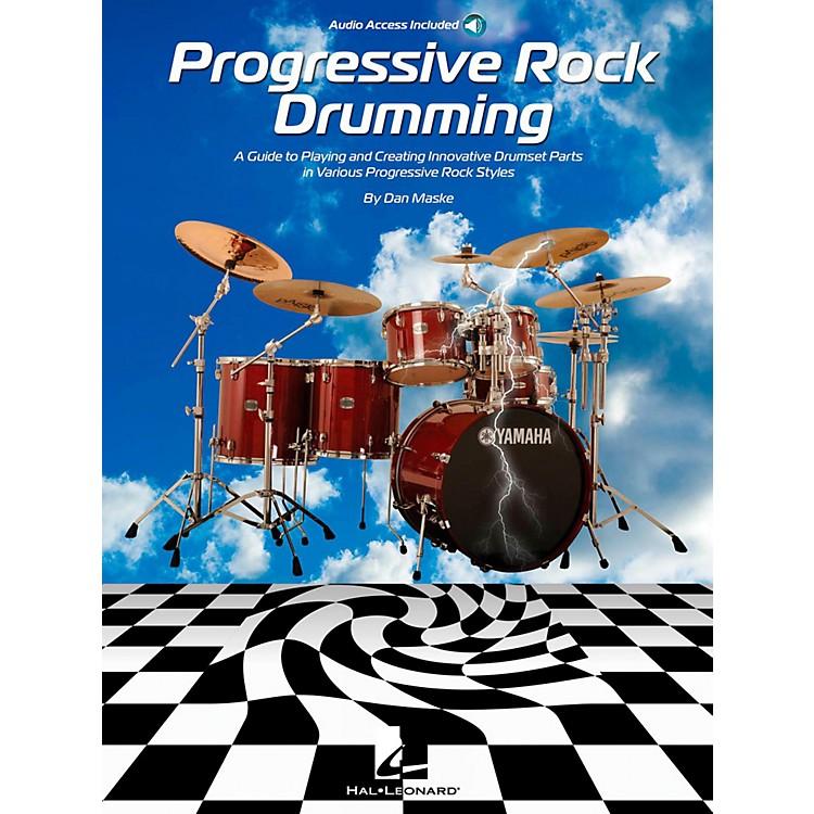 Hal LeonardProgressive Rock Drumming Book w/ Online Audio