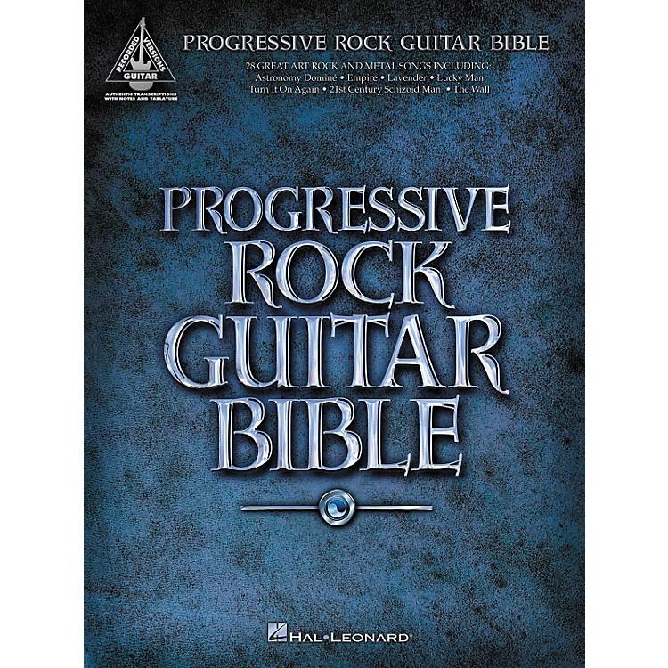 Hal LeonardProgressive Rock Guitar Bible (Guitar Tab Songbook)