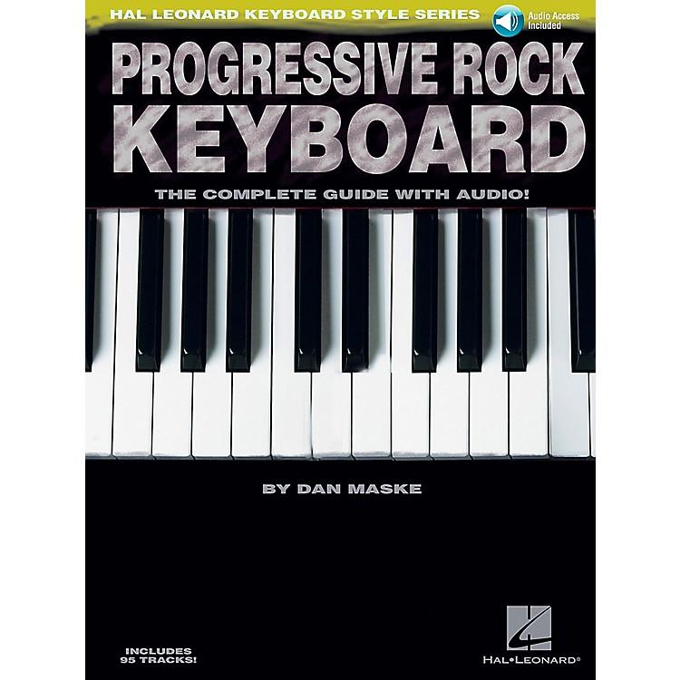 Hal LeonardProgressive Rock Keyboard Book/CD
