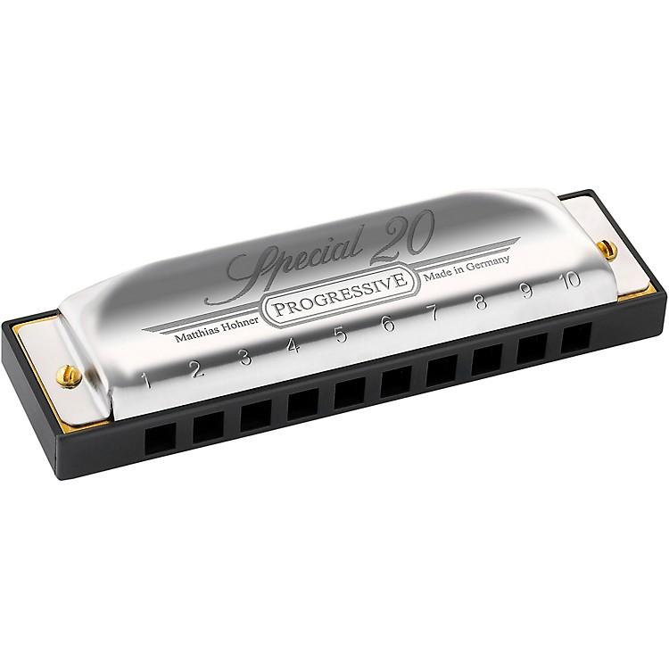 HohnerProgressive Series 560 Special 20 HarmonicaF