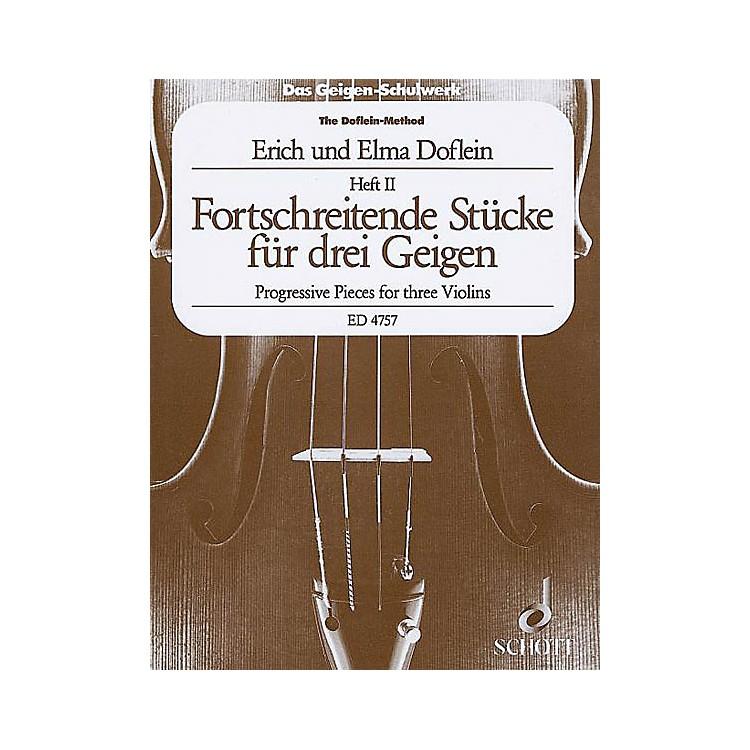 SchottProgressive Studies and Pieces (Volume 2) Schott Series Composed by Elma Doflein