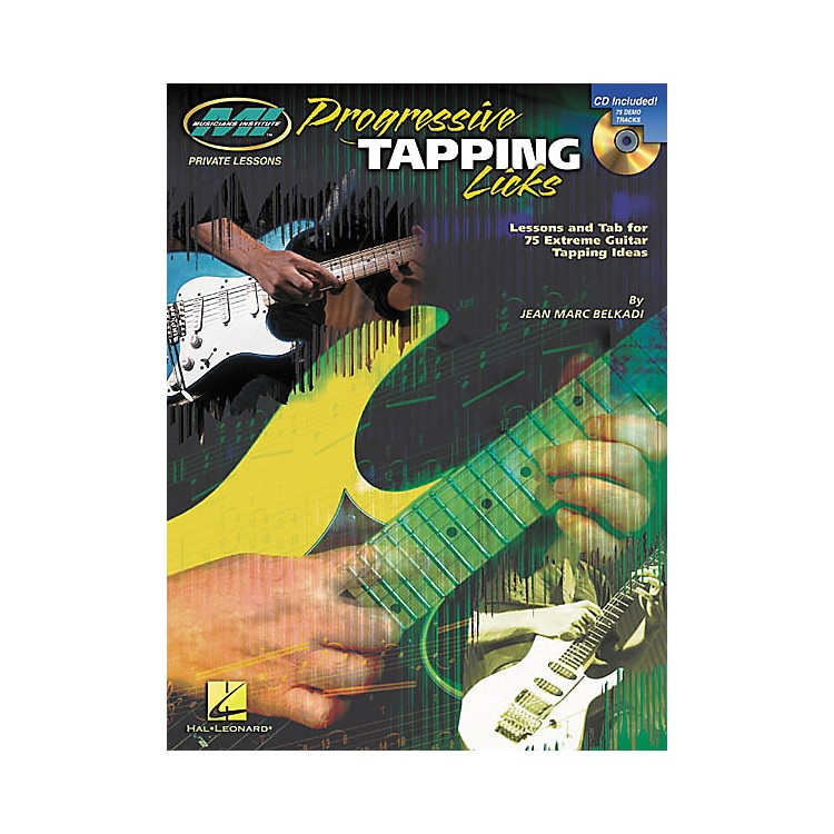 Musicians InstituteProgressive Tapping Licks (Book/CD)