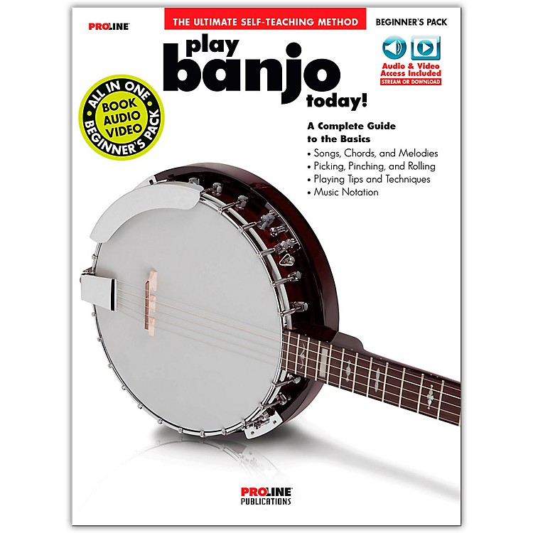 ProlineProline Play Banjo Today Beginner's Pack Book/Audio & Video Online