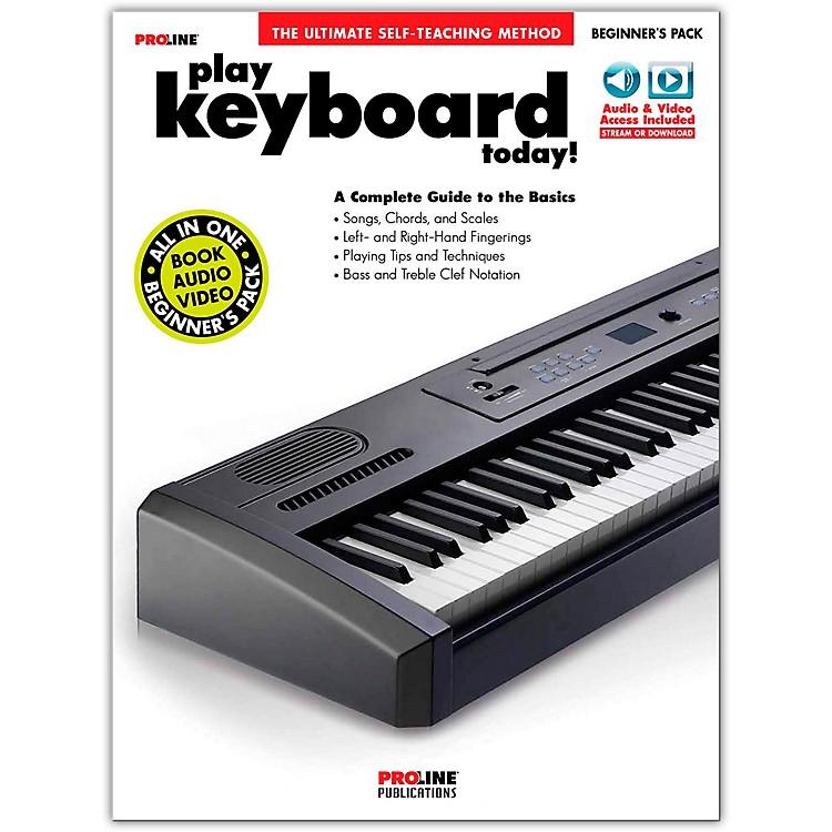 ProlineProline Play Keyboard Today Beginner's Pack Book/Audio & Video Online