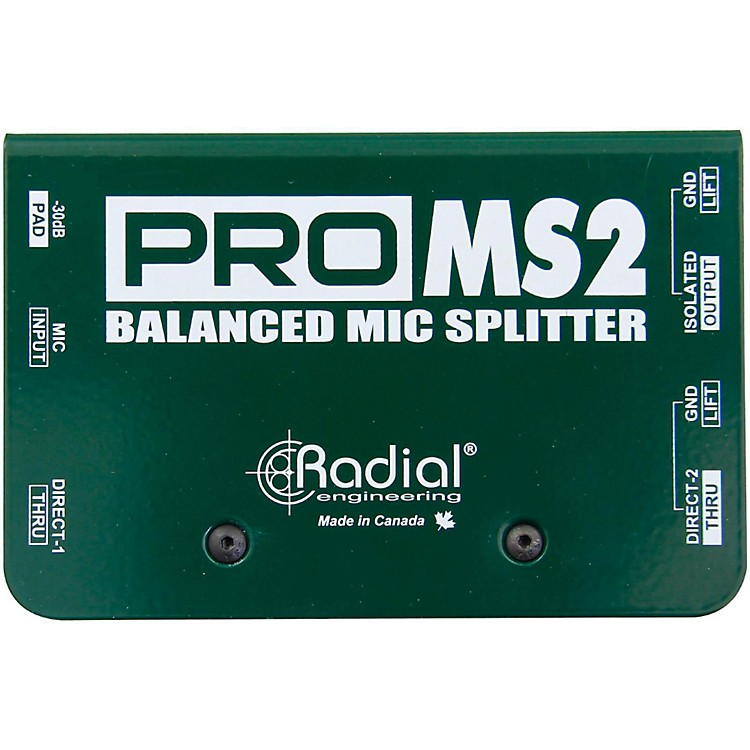 Radial EngineeringPromS2 Passive Microphone Splitter