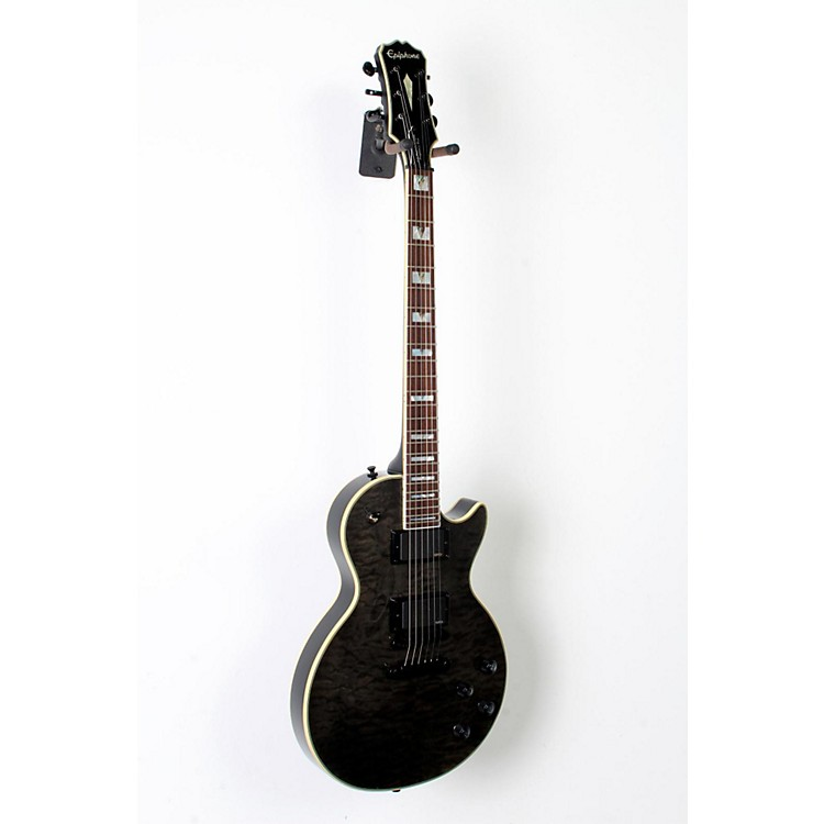 Epiphone Prophecy Les Paul Custom Plus EX/GX Electric Guitar Midnight Ebony 888365793115