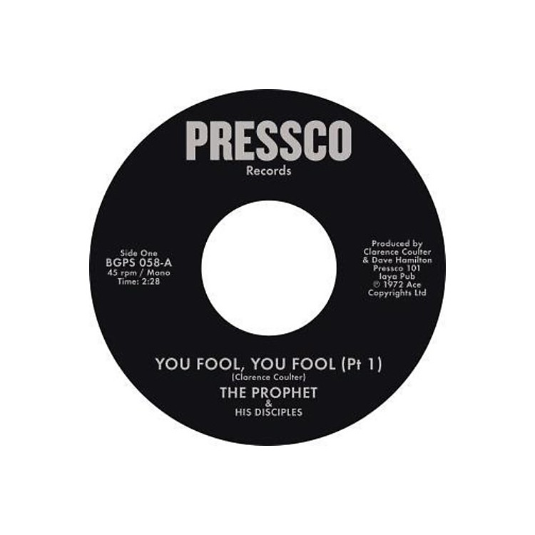 AllianceProphet & His Disciples - You Fool You Fool (Pt 1) / You Fool You Fool (Pt2)